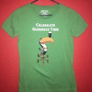 Celebrate Guinness Time Women's Medium Tshirt